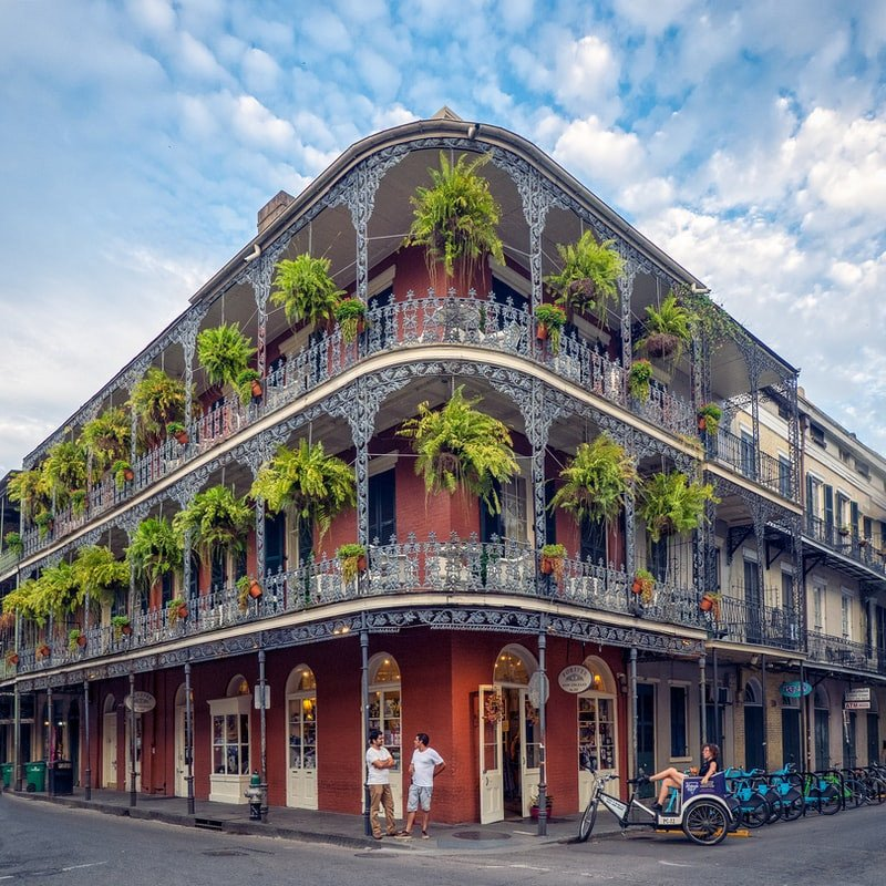 Historic New Orleans Building